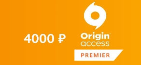 EA Origin Access Premier 12m PoR 4000 RUB RU
